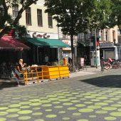 Begegnungszone Bergmannstraße